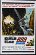"Movie Posters:War, 633 Squadron (United Artists, 1964). One Sheet (27"" X 41""). Action.Directed by Walter E. Grauman. Starring Cliff Robertson,..."