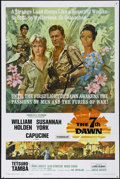 """Movie Posters:War, The 7th Dawn (United Artists, 1964). One Sheet (27"""" X 41"""").Adventure. Directed by Lewis Gilbert. Starring William Holden, S..."""