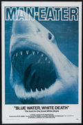 """Movie Posters:Documentary, Blue Water, White Death (National General, 1971). One Sheet (27"""" X 41""""). Documentary. Directed by Peter Gimbel and James Lip..."""