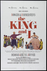 """The King and I (20th Century Fox, R-1965). One Sheet (27"""" X 41""""). Musical Romance. Directed by Walter Lang. St..."""