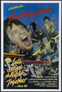 """Let's Spend the Night Together (Embassy Pictures, 1983). One Sheet (27"""" X 41""""). Concert. Directed by Hal Ashby..."""