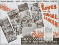 "Movie Posters:Adventure, The Lives of a Bengal Lancer (Paramount, 1935). Herald (3"" X 4.5"").Adventure. Directed by Henry Hathaway. Starring Gary Coo..."