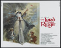 "Movie Posters:Animated, The Lord of the Rings (United Artists, 1978). Half Sheet (22"" X28""). Animated Feature. Directed by Ralph Bakshi. Starring C..."