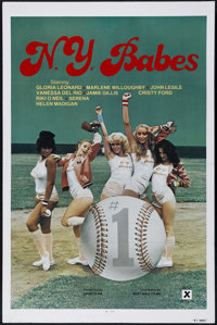 "N.Y. Babes (Big Apple, 1979). One Sheet (27"" X 41""). Adult. Directed by Bobby Hollander. Starring Bobby Astyr..."