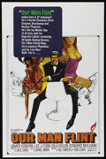"Movie Posters:Adventure, Our Man Flint (20th Century Fox, 1966). One Sheet (27"" X 41""). SpyComedy. Directed by Daniel Mann. Starring James Coburn, L..."