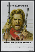 "Movie Posters:Western, The Outlaw Josey Wales (Warner Brothers, 1976). One Sheet (27"" X 41""). Western. Directed by Clint Eastwood. Starring Eastwoo..."