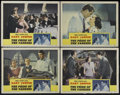 "Movie Posters:Sports, Pride of the Yankees (RKO, 1942). Lobby Cards (4) (11"" X 14""). Sports Drama. Directed by Sam Wood. Starring Gary Cooper, Ter... (Total: 4 Items)"