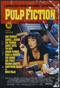 "Pulp Fiction (Miramax, 1994). One Sheet (27"" X 41""). Crime. Directed by Quentin Tarantino. Starring John Travo..."