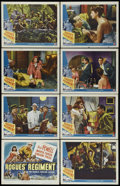 """Movie Posters:Adventure, Rogues' Regiment (Universal, 1948). Lobby Card Set of 8 (11"""" X14""""). Action. Starring Dick Powell, Märta Torén, Vincent Pric...(Total: 8 Items)"""