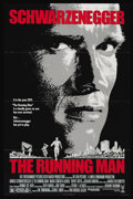 """Movie Posters:Action, The Running Man (Tri Star Pictures, 1987). One Sheet (27"""" X 41""""). Sci-Fi Action. Directed by Paul Michael Glaser. Starring A..."""