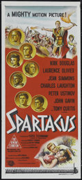 "Movie Posters:Adventure, Spartacus (Universal International, 1960). Australian Daybill (13""X 30""). Epic. Directed by Stanley Kubrick. Starring Kirk ..."