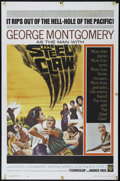 "Movie Posters:War, The Steel Claw (Warner Brothers, 1961). One Sheet (27"" X 41""). War.Directed by George Montgomery. Starring Montgomery, Char..."