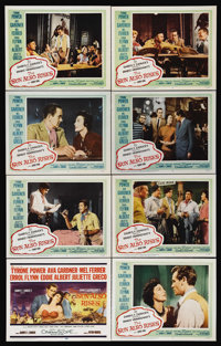 "The Sun Also Rises (20th Century Fox, 1957). Lobby Card Set of 8 (11"" X 14""). Drama. Directed by Henry King. S..."