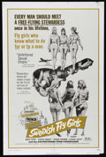 """Movie Posters:Bad Girl, Swedish Fly Girls (Trans American, 1972). One Sheet (27"""" X 41"""").Adult Comedy. Directed by Jack O'Connell. Starring Birte To..."""