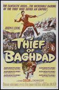 "Movie Posters:Fantasy, The Thief of Bagdad (MGM, 1961). One Sheet (27"" X 41""). Adventure.Directed by Arthur Lubin. Starring Steve Reeves, Giorgia ..."