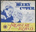 "Movie Posters:Adventure, Treasure Island (MGM, 1934). Herald (6.5"" X 7""). Adventure.Directed by Victor Fleming. Starring Wallace Beery, Jackie Coope..."
