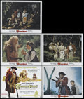 "Movie Posters:Adventure, Treasure Island (Buena Vista, R-1975). Lobby Card Set of 5 (11"" X14""). Adventure. Directed by Byron Haskins. Starring Bobby...(Total: 5 Items)"