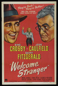 "Movie Posters:Comedy, Welcome Stranger (Paramount, 1947). One Sheet (27"" X 41"") Style A. Comedy...."
