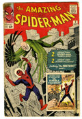 Silver Age (1956-1969):Superhero, The Amazing Spider-Man #2 (Marvel, 1963) Condition: FR. Spidey'ssecond issue features the first appearance of the Vulture a...
