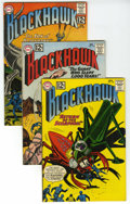 Silver Age (1956-1969):Adventure, Blackhawk/Challengers of the Unknown Group (DC, 1962-65) Condition: Average VF+. Lot of seventeen books includes Blackhawk... (Total: 17 Comic Books)