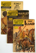 Silver Age (1956-1969):Classics Illustrated, Classics Illustrated Group (Gilberton, 1969) Condition: Average VG.All issues in this group but one are reprints, with HRNs... (Total:16 Comic Books)