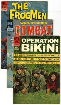 Combat and Related War Titles Group (Dell, 1963-65) Condition: Average VG. Lot of ten War comics includes Combat #8 (4-6...