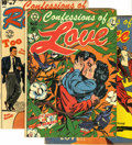 Golden Age (1938-1955):Romance, Confessions Of Romance Group Plus (Star Publications, 1953-54)Condition: VG+. L. B. Cole covers grace all three issues in t...(Total: 3)