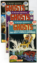 Bronze Age (1970-1979):Miscellaneous, DC Bronze Group (DC, 1971-76) Condition: Average FN/VF. Groupincludes Ghosts #19, 22, 24, Forever People #3, 7, 8, ... (Total:16)