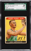 Baseball Cards:Singles (1930-1939), 1933 Sport Kings Joe Lopchick #32 SGC 88 NM/MT 8 - Pop Two, NoneHigher. ...