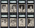 Baseball Cards:Lots, 1939 Play Ball Baseball High Number SGC 88 NM/MT 8 Collection(16)....