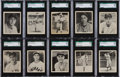 Baseball Cards:Lots, 1939 Play Ball Baseball SGC 96 MINT 9 Collection (10). ...