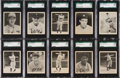 Baseball Cards:Lots, 1939 Play Ball Baseball Low Number SGC 88 NM/MT 8 Collection (23)....