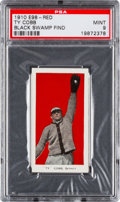 "Baseball Cards:Singles (Pre-1930), 1910 E98 ""Set of 30"" Ty Cobb (Red) ""Black Swamp Find"" PSA Mint 9!..."
