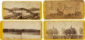 Photography:Stereo Cards, Lot of Four Stereoviews From the Photographic History of the War for the Union Series.... (Total: 4 )