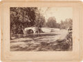 Photography:Cabinet Photos, Matthew Brady Photograph of Antietam Bridge....