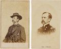 Photography:CDVs, Union Major General Daniel Edgar Sickles Pair of Cartes de Visite.... (Total: 2 )