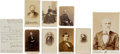 Photography:CDVs, Group of Eight Contemporary Photographic Images of Prominent Civil War Era Political and Social Figures....
