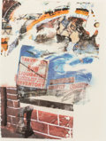 Post-War & Contemporary:Abstract Expressionism, ROBERT RAUSCHENBERG (American, 1925-2008). L.A. Uncovered#6, 1998. Screenprint in colors. 32-1/4 x 24 inches (82.0 x61...