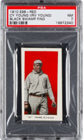 "Baseball Cards:Singles (Pre-1930), 1910 E98 ""Set of 30"" Cy Young (Red) ""Black Swamp Find"" PSA NM 7...."