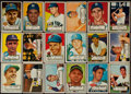 Baseball Cards:Sets, 1952 Topps Baseball Low- and Middle Series Partial Run (161/310). ...