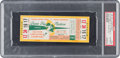 Football Collectibles:Tickets, 1961 NFL Championship Game Packers vs. Giants Full Ticket, PSA Authentic. ...
