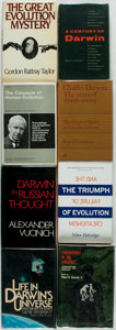 Books:Science & Technology, [Charles Darwin]. [Evolution]. Group of Eight Books on Charles Darwin and/or Evolution. Various publishers and dates. Includ... (Total: 8 Items)