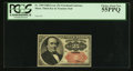 Fractional Currency:Fifth Issue, Fr. 1309 25¢ Fifth Issue PCGS Choice About New 55PPQ.. ...