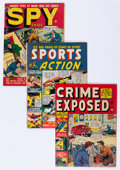 Golden Age (1938-1955):Crime, Atlas Golden Age Crime Comics Group (Atlas, 1948-57) Condition: Average VG+.... (Total: 8 Comic Books)