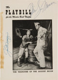 Autographs:Others, 1954 Joe DiMaggio & Marilyn Monroe Signed Broadway Playbill....
