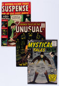 Golden Age (1938-1955):Horror, Atlas Golden Age Horror Comics Group (Atlas, 1952-57).... (Total: 4Comic Books)