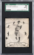 Baseball Cards:Singles (1930-1939), 1937 O-Pee-Chee Joe DiMaggio #118A SGC 88 NM/MT 8 - Pop One, TwoHigher. ...