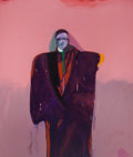 Fine Art - Painting, American:Contemporary   (1950 to present)  , FRITZ SCHOLDER (American, 1937-2005). American Portrait #46,1982. Oil on canvas. 79 x 67 inches (200.7 x 170.2 cm). Sig...