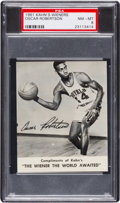 Basketball Cards:Singles (Pre-1970), 1961 Kahn's Wieners Oscar Robertson PSA NM-MT 8 - Pop Three, None Higher....