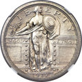 Standing Liberty Quarters, 1917 25C Type One -- Improperly Cleaned -- NGC Details. Unc....